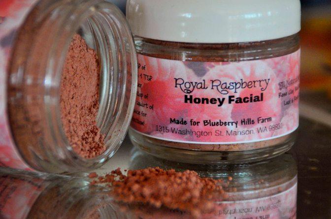 Royal Raspberry Honey Facial