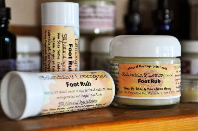 Lemongrass & Calendula Foot Rub
