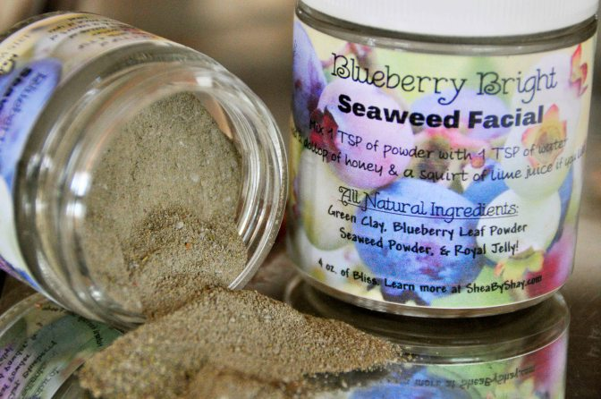 Blueberry Bright Seaweed Facial